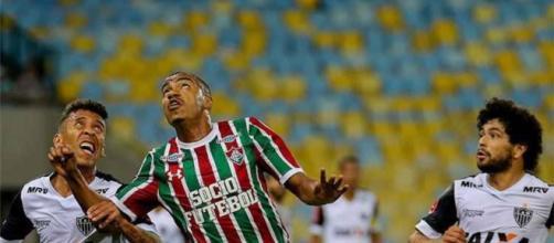 Fluminense sobe na tabela ao vencer o Atlético-MG