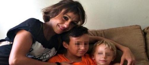 Juana Rivas y sus hijos en una imagen reciente
