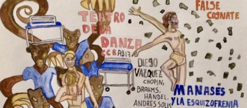 Laleget de Diego Vázquez presentó Manasés y la Esquizofrenia en el CCB.
