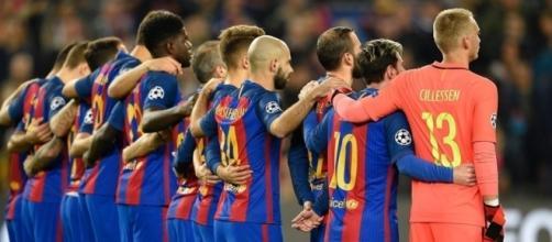 Le Barça a rendu hommage aux victimes de l'attentat