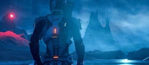 Mass Effect Andromeda/ photo screen capture from @Mashable via Twitter
