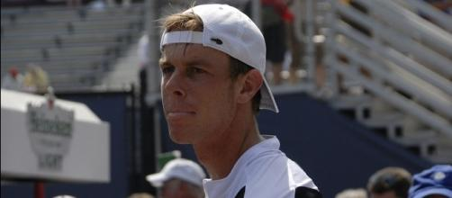 Sam Querrey of the USA (Wikimedia Commons/Charlie Cowins)