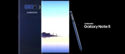 Samsung Galaxy Note 8 (via YouTube - Enoylity)