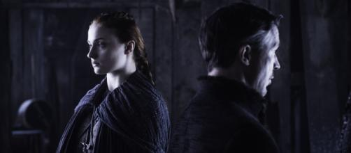 Sanda e Baelish, de Game of Thrones (Imagem: Reprodução HBO)
