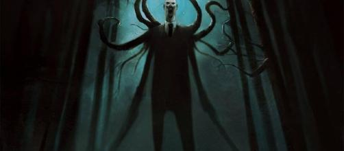The fictitious Slender Man. [Image via Wikimedia Commons]