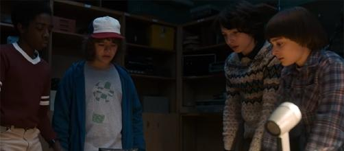 """The kids of """"Stranger Things"""" are set to deal with the supernatural once again when season 2 premieres this October. (YouTube/Netflix)"""