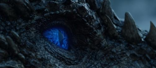 Viserion turned into a wight in 'Beyond the Wall' (Image: GameofThrones via YouTube)