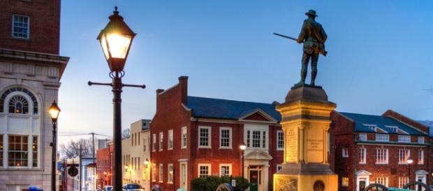 A pequena Charlottesville, na Virgínia