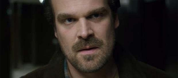 "David Harbour sheds some more light on the big-screen character he's playing in the ""Hellboy"" reboot. (YouTube/"