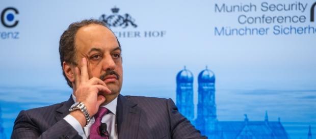 Defence Minister Khalid al-Attiyah Image | :MSC 2014 AlAttiyah Mueller MSC2014.jpg | Wikimedia