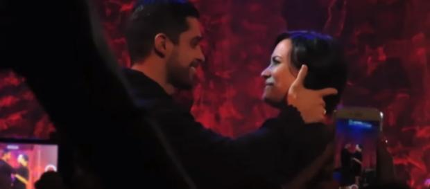 Demi Lovato, Wilmer Valderrama - YouTube screenshot | Shine On Media/https://www.youtube.com/watch?v=8H2F26JJcT0