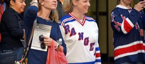 NY Rangers fans -- image courtesy of Flickr.