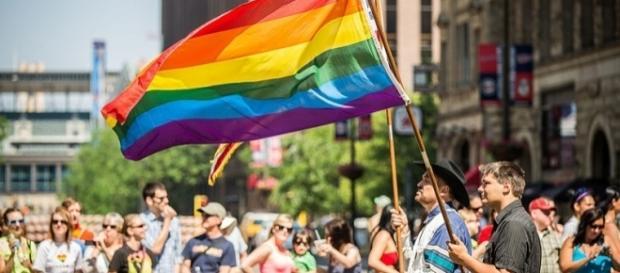 Pride march / Photo via Tony Webster, Wikimedia