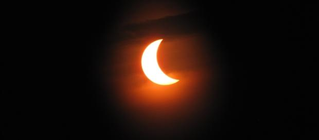 Solar Eclipse via Wikimedia Commons