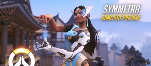 """Symmetra is not only great in defense, as she can also be useful in offense in """"Overwatch"""" (via YouTube/PlayOverwatch)"""