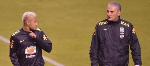 Tite não deu conselhos a Neymar