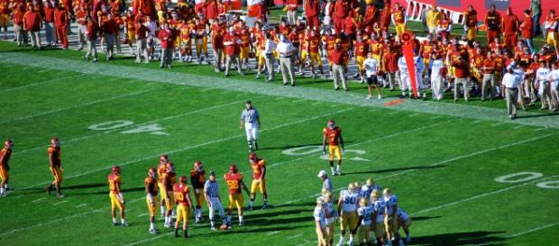 USC has their starter, and he's an All-American. Eric Chan via Wikimedia Commons