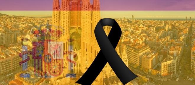 Musulmanes en Barcelona se manifiestan en contra del terrorismo