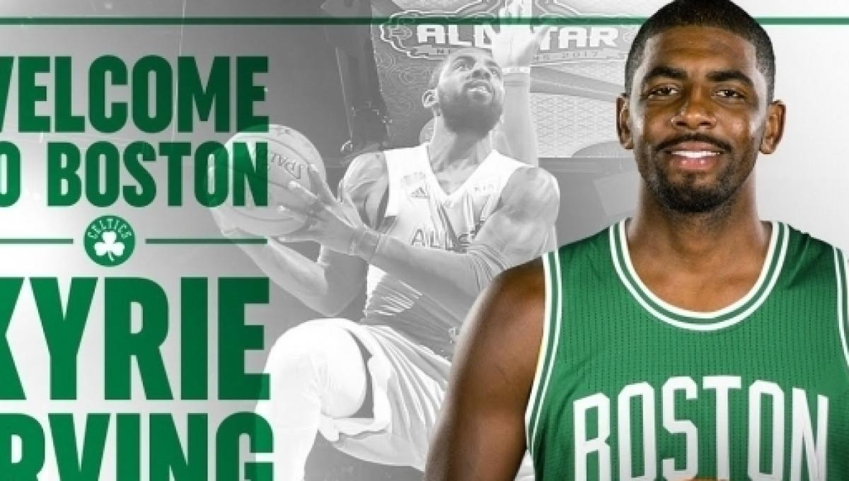 cd997994645d Kyrie Irving traded to the Celtics in exchange for Isaiah Thomas