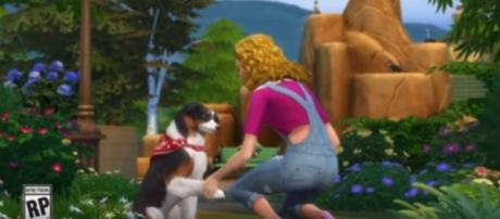 """""""The Sims 4"""" will finally receive the long-awaited Dogs and Cats expansion pack on Nov. 10. The SIms/YouTube"""