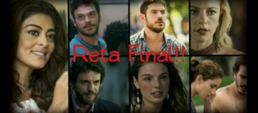 Bibi (Juliana Paes), Zeca (Marco Pigossi), Ritinha (Isis Valverde), Jeiza (Paolla Oliveira), Rubinho (Emilio Dantas), entre outros.