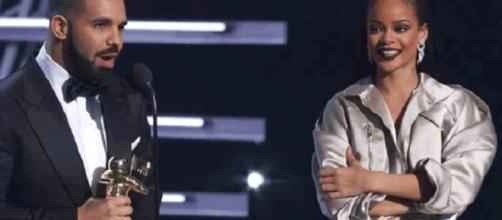 Drake, Rihanna - Image via YouTube/MTV