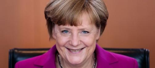 German Chancellor Angela Merkel ought to be happy about the current polling (via hollywoodreporter.com)