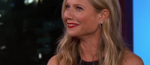 "Gwyneth Paltrow is slated to appear in ""Avengers: Infinity Wars."" Image via YouTube/JimmyKimmel"