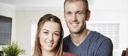 "Jamie Otis and Doug Hehner from ""Married at First Sight"" Season 1 [Image: USA News/YouTube screenshot]"