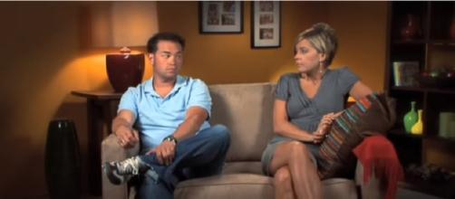 Jon and Kate Gosselin. (Image via YouTube screengrab/TLC)