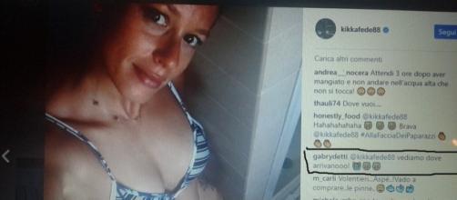 La foto sexy di Federica Pellegrini e il commento di Detti