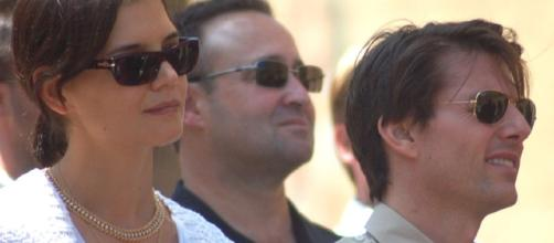 Tom Cruise, Suri Cruise, Katie Holmes/Angela George via Wikimedia Commons