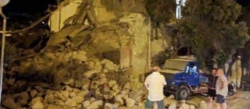 Uno scatto del terremoto avvenuto a Ischia (Fonte 3B Meteo)