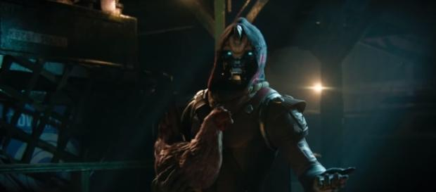 "A screenshot of Cayde-6 from ""Destiny 2."" - YouTube/destinygame"