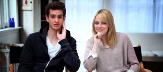 Andrew Garfield and Emma Stone - Funny Moments | Amy/YouTube