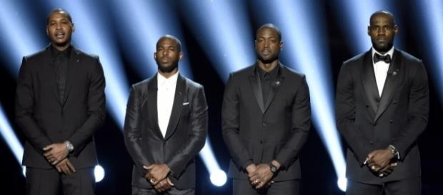 Carmelo, Chris Paul, Dwyane Wade, LeBron make powerful statement ... - usatoday.com