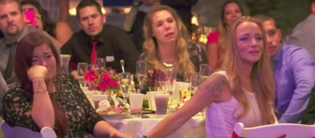 Cast of Teen Mom OG at Catelynn's wedding-Image by YouTube/MTV