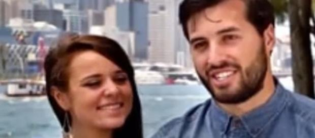 'Counting On' couple Jinger Duggar and Jeremy Vuolo / Photo via TheFame , YouTube