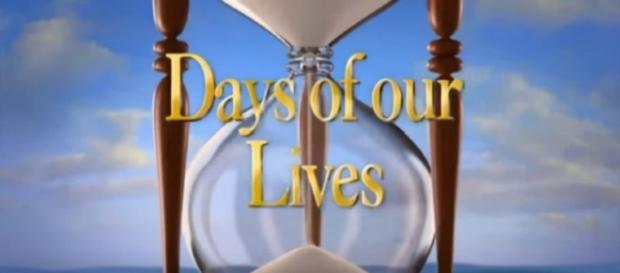 Days of our Lives logo. (Image via YouTube screengrab/NBC)