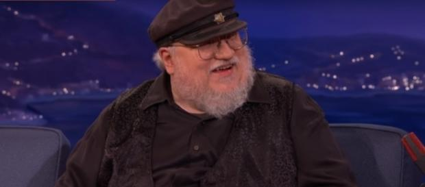G R.R. Martin, Game of Thrones- (YouTube/Team Coco)