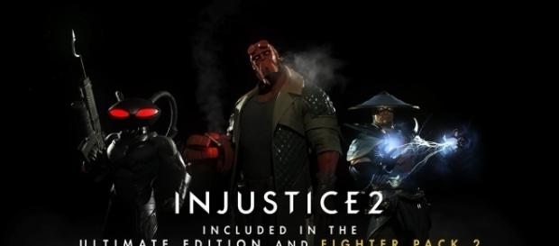 ''Injustice 2' DLC Characters: Raiden is disliked, Hellboy get fans excited(NetherRealm/YouTube Screenshot)