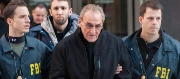 """Joseph """"Joey flaco"""" Merlino (Joseph flaco Joey Merlino), el jefe de la mafia de Filadelfia."""
