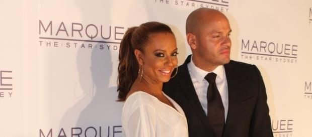 Mel B and husband / Photo via Eva Rinaldi, Wikimedia