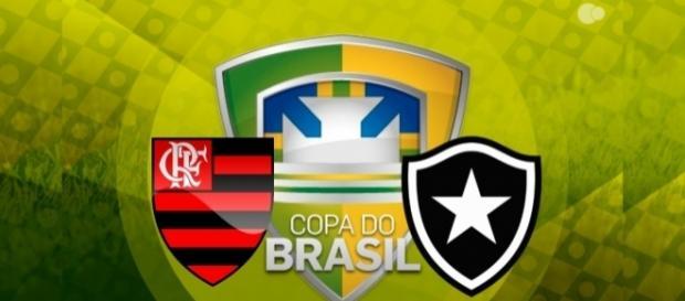 Flamengo e Botafogo, pela Copa do Brasil: saiba como assistir