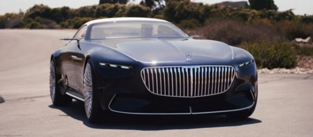 Vision Mercedes-Maybach 6 Cabriolet. [Image via YouTube/Mercedes-Benz]