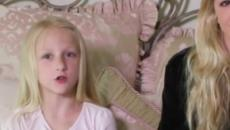 Chloe Lukasiak's little sister Clara sits for her first interview