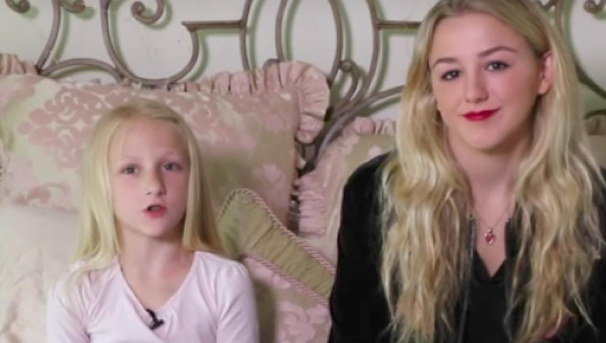Chloe Lukasiaks Little Sister Clara Sits For Her First Interview
