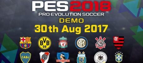 A versão final do PES 2018 será lançada dia 12 de setembro