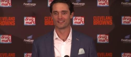Browns still looking to trade Brock Osweiler - (Image credit: YouTube/ESPN)