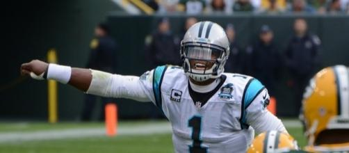 Cam Newton | Photo from the Green Bay Packers 38-17 victory … | Flickr - flickr.com